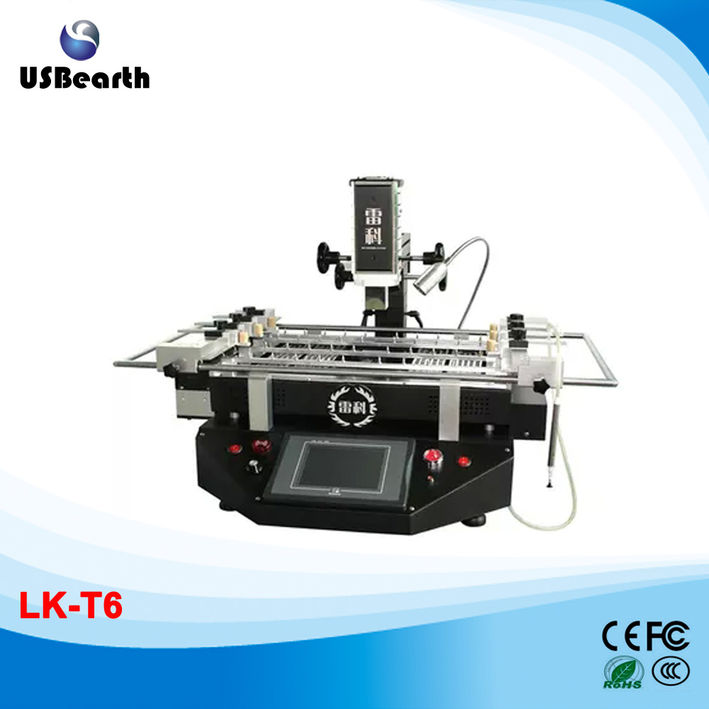 LK-T6-6800RMB High Performance BGA rework machine T6,3 temperature zones soldering,free tax to Russia ship to russia no tax jovy re8500 bga rework station re 8500 upgraded from re7500 soldering machine high quality