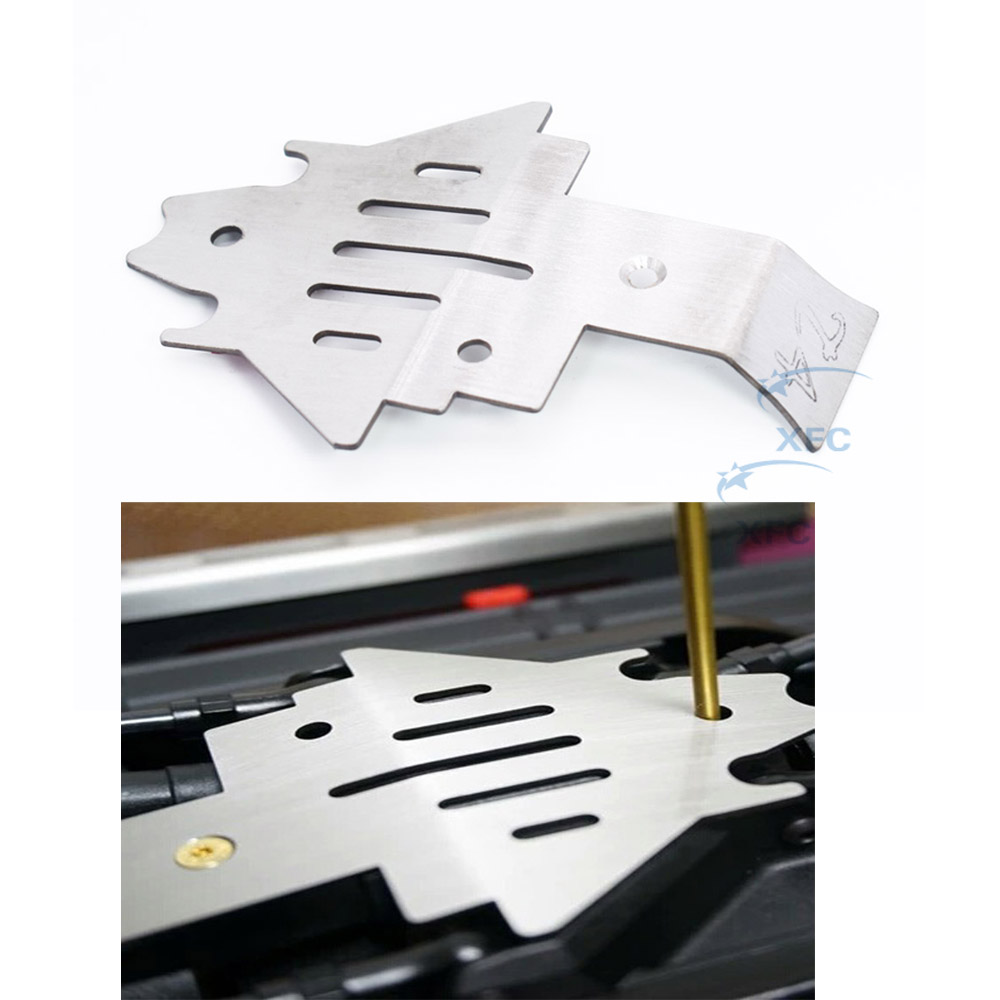 Chassis Armor Protection Skid Plate For 1/10 RC Crawler Car Traxxas TRX-4 TRX4