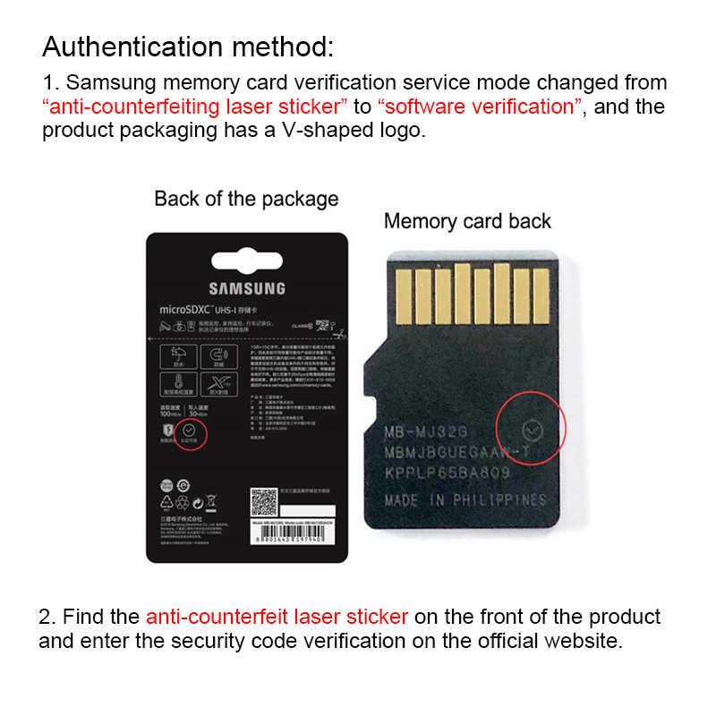 Carte mémoire SAMSUNG carte Micro SD 256 go 32G 64 go Micro SD 128 go 512G SDHC SDXC Grade EVO + C10 UHS TF cartes SD
