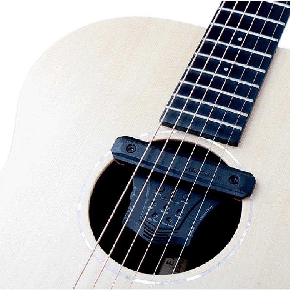 DOUBLE G0 guitare acoustique pick-up Chorus retard réverbération effets micros magnétiques Piezo Soundhole fréquence micro guitare accessoires - 3