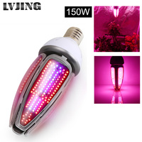 150W LED Corn Plant Light E40 E27 AC85 265V Full Spectrum Led Cob Chip 360 Degree Lighting Plant Growth Flowering Lamp Corn Bulb