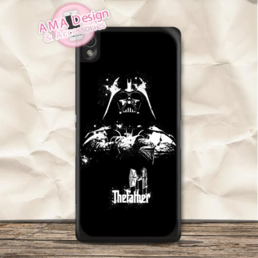 Darth Vader Star Wars Funny Case For Sony Xperia Z5 Z4 Z3 Z2 Z1 compact Z C3 C T3 T2 E4 SP M4 M2