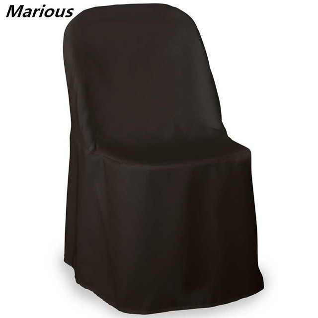 elegant 1 black banquet chair covers polyester one piece folding