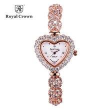 Coronary heart Shell Woman Girls's Watch Japan Quartz Hours Trend Costume Bracelet Luxurious Rhinestones Bling CZ Lady Birthday Reward Field