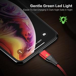 Image 2 - Магнитный зарядный usb кабель FLOVEME, Micro Usb Type C, Магнитный провод для быстрой зарядки, 3 А, для iphone, Samsung, Redmi Note 7, 8, Microusb