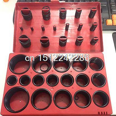 New 419 Pieces Rubber O Ring Oring Seal Plumbing Garage Assortment Set Kit