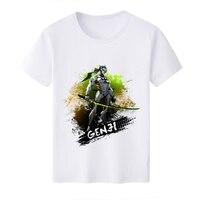 2017 Casual T Shirt Game OW Reaper Genji Hanzo ROADHOG Fashion Design O Neck T Shirts