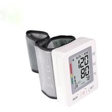 Бытовые AOEOM Цифровые Наручные Монитор Артериального Давления Измерение Пульса Портативный Сфигмоманометр ЖК-Дисплей Здорового Устройства