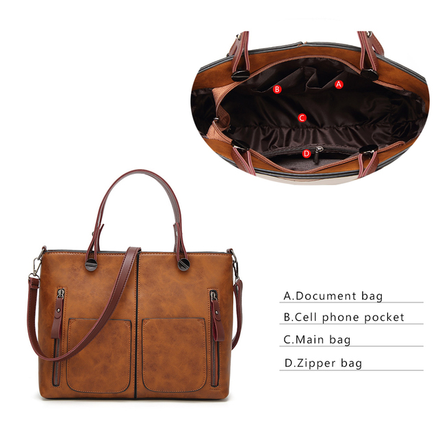 Tinkin Vintage   Shoulder Bag Female Causal Totes for Daily Shopping  5