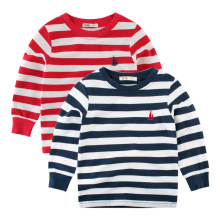 Striped Autumn Shirt Boy Girls Kids Clothing Children T-shirts for Boy Cotton Long Sleeve T Shirts Stripes Tops 2-10 Years