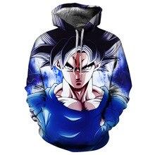 New Animation 3D Print Hoodie/Sweatshirt Dragon Ball Unisex Good Quality Pullover Oversize 5XL Streetwwear Hoodies Men