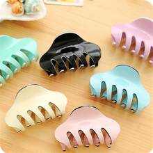 1Pc Women's Candy Color Hair Claw Section Styling Tools Hair Clip Clamps Hairpins Pro Salon Hairdressing Tool