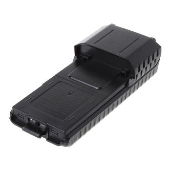 Baofeng BF-UV5R Walkie Talkie Speaker Uitgebreide 6x Aa Batterij Case Shell Pack Black Shell Voor UV-5R, BF-F8HP, UV-5X3 Tf Uv985