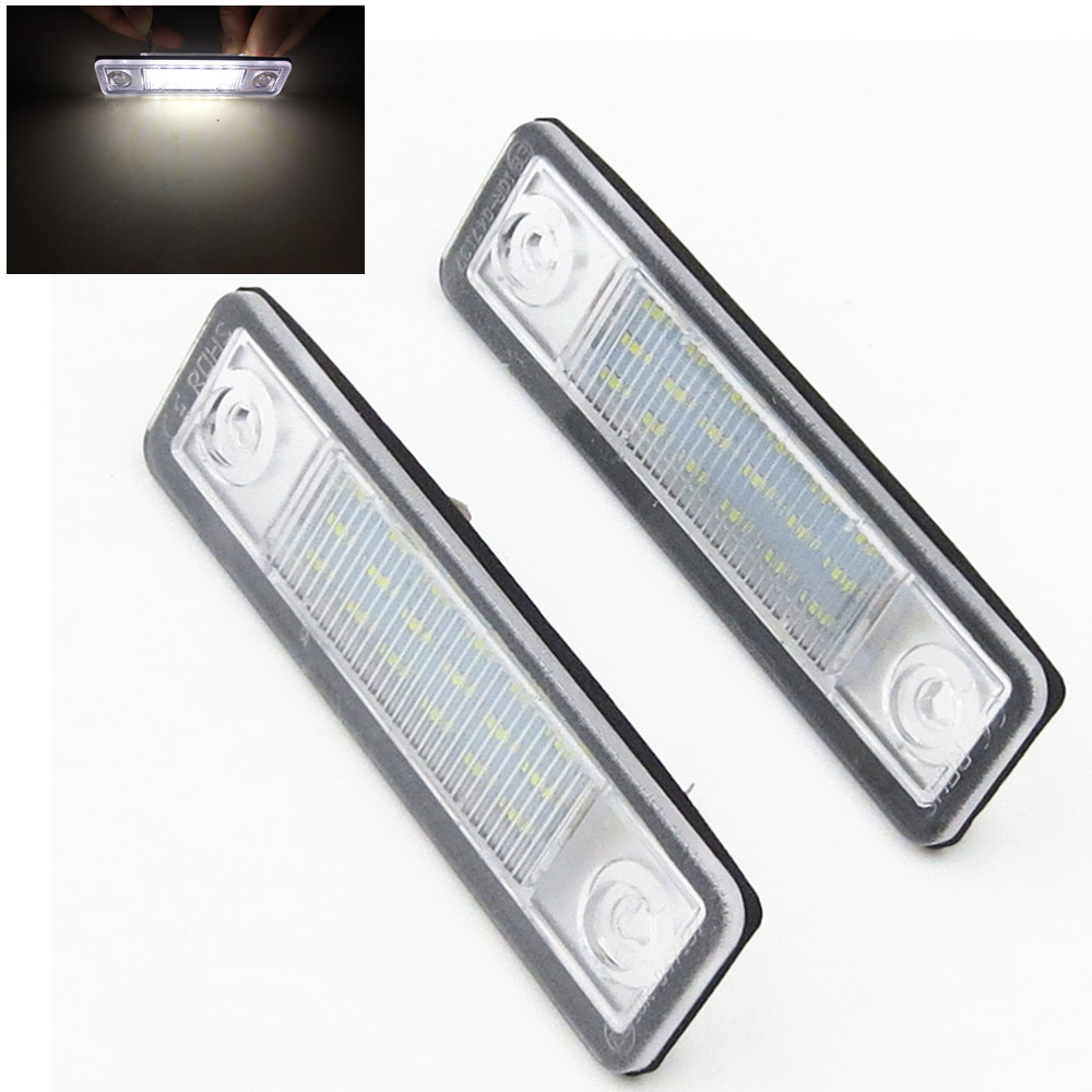 18 SMD LED Kennzeichenbeleuchtung LED Modul Mitsubishi Grandis E-Prüfzeichen