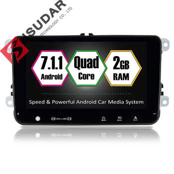Isudar Car Multimedia Player GPS 2 Din Android 7.1.1 DVD Automotivo For Volkswagen/VW/POLO/PASSAT/Golf/Skoda/Seat/Leon Radio FM - DISCOUNT ITEM  35% OFF All Category