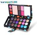 26 Colors Eyeshadow Natural Waterproof Make Up Blush Eyebrow Powder Eye Shadow Makeup Palette PU Cosmetic Beauty Accessories