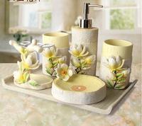 Набор ванна пять творческий пастырской мыть полоскания костюм современный Туалет Свадебный Люкс