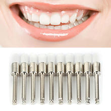 100pcs Simple and Effective Tooth Polisher Professional Tooth Stain Remover Polish Dental Brushes Teeth Polishing Kit
