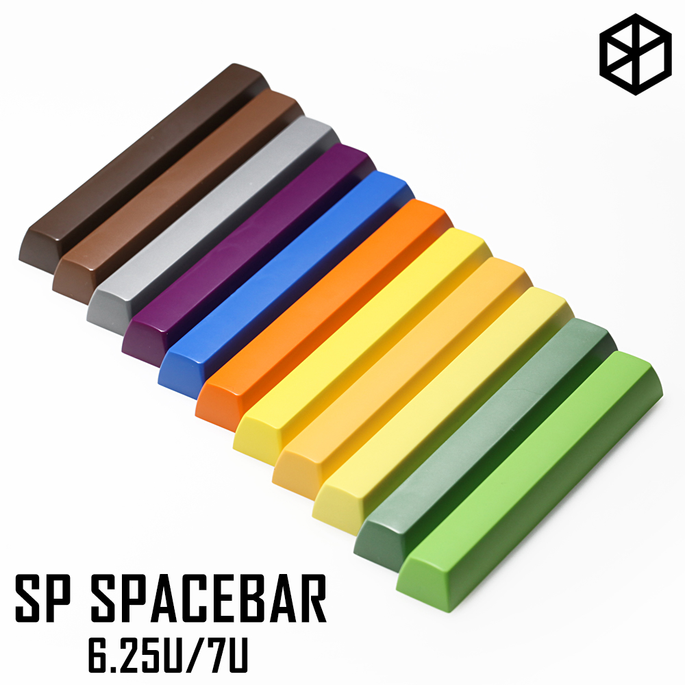 sp signature plastic sa profile spacebar 6.25u 7u for mx stem <font><b>mechanical</b></font> <font><b>keyboard</b></font> abs keycap for gh60 87 <font><b>tkl</b></font> xd64 104 ansi xd96 image