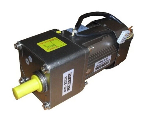 AC 380V 60W Three phase gear motor with gearbox. AC gear motor, 100w output power 22mm small ac gear motor 3 phase motor with 2 gearbox ratio 60 100