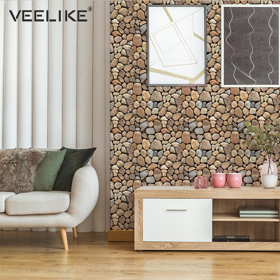 - 3D Decorative Wall Panel Brick Stone Self Adhesive Wall Papers