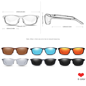 Image 4 - BARCUR Aluminum Polarized Sunglasses for Men Eyewear Accessories Men Blue Mirror Sun Glasses Luxury Goggle