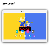 10 1 Tablet Pc Android 6 0 Octa Core 64GB 4GB RAM Dual Camera Dual SIM