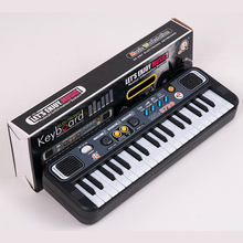 Promo offer Multifunctional Mini Electronic Piano with Microphone Plastic ABS Children Portable 37 Keys Digital Music Electone Keyboard Gift
