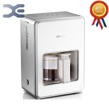 Free Shipping High Quality Espresso Machine ome Appliances Coffee Maker Coffee Machine 220V Fully automatic 1.2L