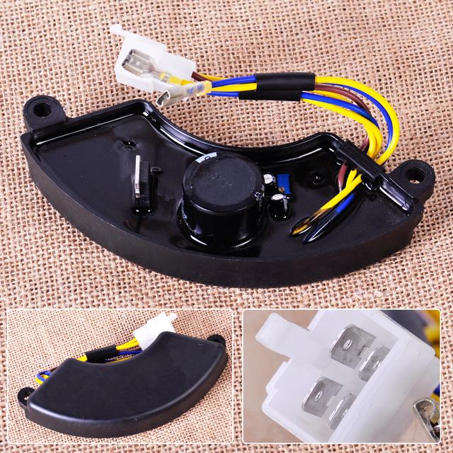 4 pin 7.5KW 7KW 8KW Generador AVR Regulador Automático de Tensión Monofásico Rectificador Capacitancia 250 V 330 uF