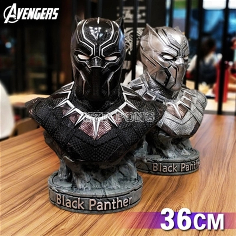 2 Colour 1/2 Resin Bust Avengers 3 Captain America Civil War Black Panther Model Collection Statue Black Panther Action Figure2 Colour 1/2 Resin Bust Avengers 3 Captain America Civil War Black Panther Model Collection Statue Black Panther Action Figure
