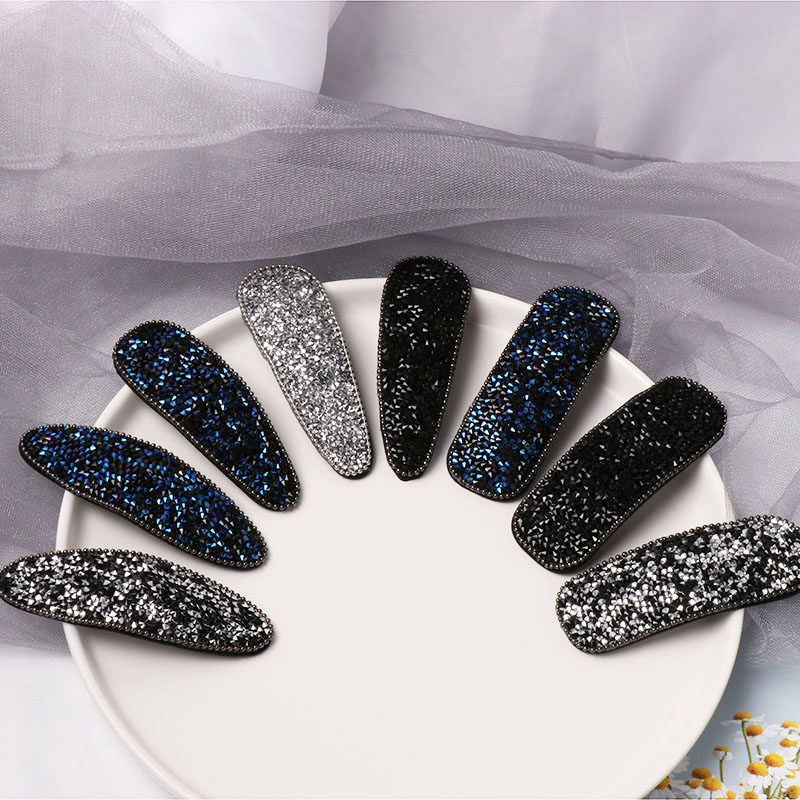 Buy FASHIONSNOOPS Korea Barrettes For Women Ladies Elegant Jewelry Hairgrips Crystal Hair Pins Hair Accessories for only 1.14 USD