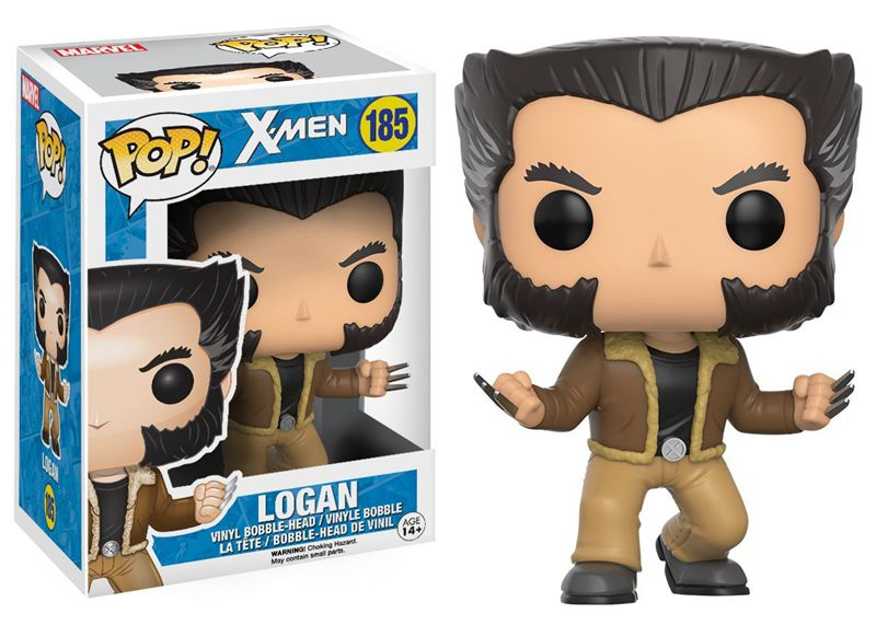 Official Funko pop Marvel: X-Men - Logan Wolverine Vinyl Action Figure Collectible Model Toy with Original box  official funko pop marvel x men logan wolverine vinyl action figure collectible model toy with original box