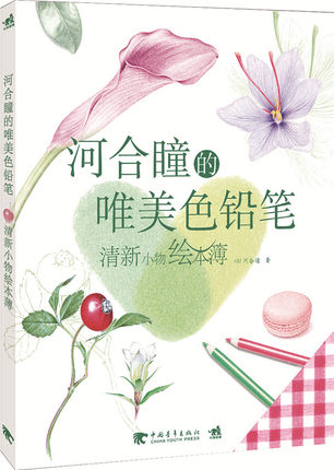 Chinese Colored Pencil Drawing Painting Art Book Written By Hitomi Kawai