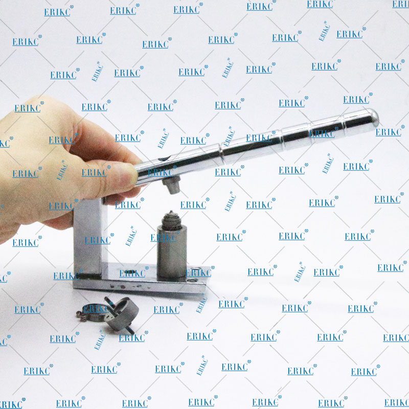 ERIKC Common Rail Tool Piezo Fuel Injector Valve Assy Installation Repair Tool removal Piezo Injector valve common rail injector diesel oil valve installation and positioning tool for c7c9 heui medium pressure common rail repair tool