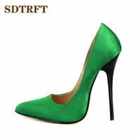 LLXF Plus 40 45 46 47 48 49 Brand Ladies Stilettos 13cm Thin High Heels Sexy