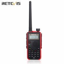 Durable Walkie Talkie Retevis RT5 Dual Band VHF UHF Handsfree Mobile Amateur Radio Portable Ham Two