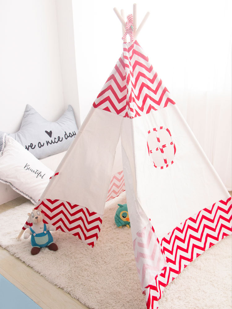 YARD Toy Tent Foldable Tipi Prince Folding Children Playhouse Indian Tents Children Baby Tents yard indian pattern children toy tent teepees safety tipi portable playhouse kids teepee tents