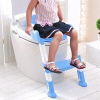 Brand New Children Potty Training Ladder Seat Kids Toilet Trainer Toddler Step Stool Portable Travel Seats Steps