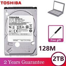 """Computer Portatile TOSHIBA Hard Drive Disk 2000GB 2TB HDD Interno HD 2.5 """"5400 RPM 128M di Cache 9.5mm SATA3 MQ04ABD200 Originale per Notebook"""