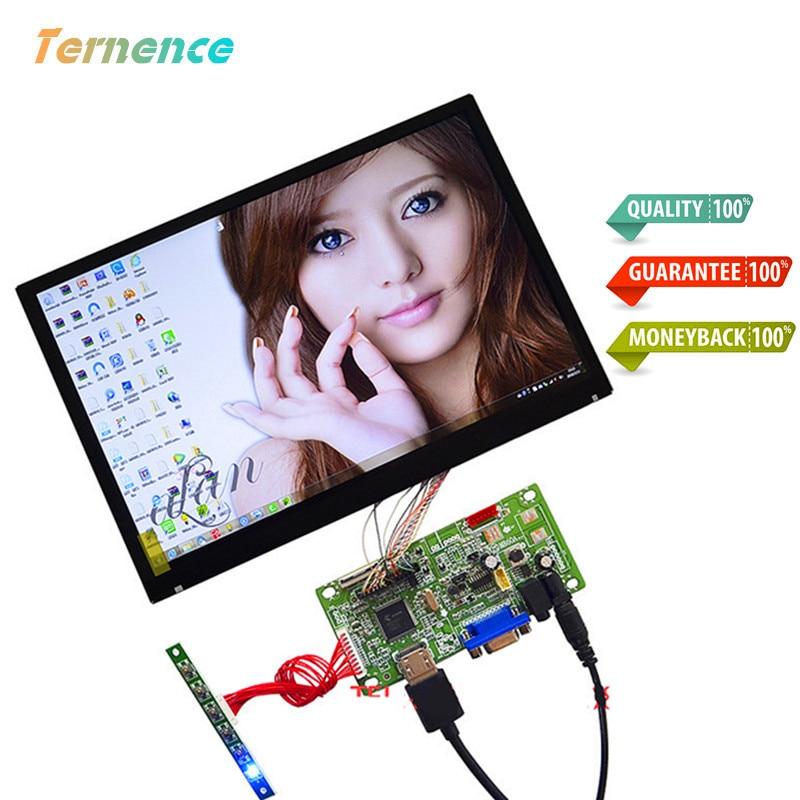 Skylarpu 2k full view raspberry pie 10.1 inch IPS LCD screen computer monitor Display DIY kit 2560*1600 HD HDMI+VGA With Touch