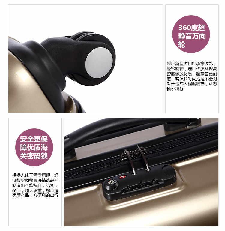 Carrylove Hellokitty Чемодан series18/20/24 inch Сумочка для ПК и подвижного Спиннер для багажа бренд дорожного чемодана