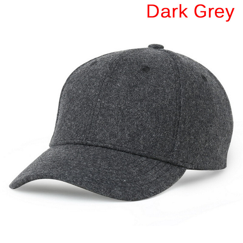 19278f09a66 Autumn And Winter Baseball Cap Cotton warm Sports Solid hats leaf sport cap  for men and women Father s Best Gifts Hats-in Baseball Caps from Men s  Clothing ...