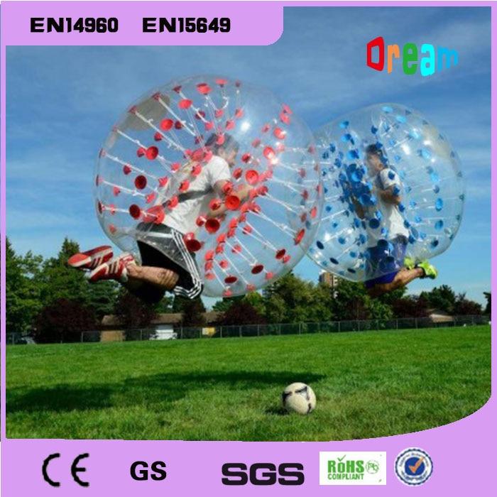 Llongau am ddim 1.5m Pêl-droed Pwmpiadwy Ball Swigod Ball Bumper Corff Zorbio Pêl-droed Swigod Bouncer Dynol Pêl-fasged Ball Zorb