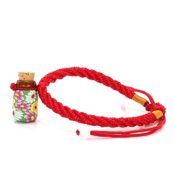 Whosale Cheap Mini Flowers Glass Bottle Bracelet Aromatherapy Essential Oils Perfume Women Bracelets Bangles Jewelry