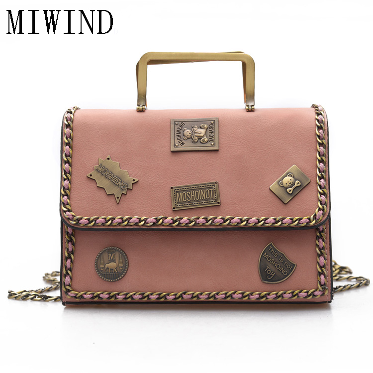 Vintage Appliquescrossbody bag for Women Shoulder Bag Womens Messenger Bags Handbag Designer Bolsas Feminina TMB471