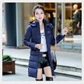 Winter Jacket Women New Coats & Jackets Hooded Fashion Warm Down& Parkas Long Style Outwear Thick Winter Jacket Women Coat 16452