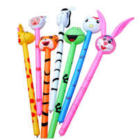 New Cartoon Inflatabel Animal 1PC Long Inflatable Hammer No wounding weapon Stick Baby Children Toys
