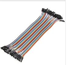 dupont cable jumper wire dupont line female to female dupont line 20cm 1P 40P(China)