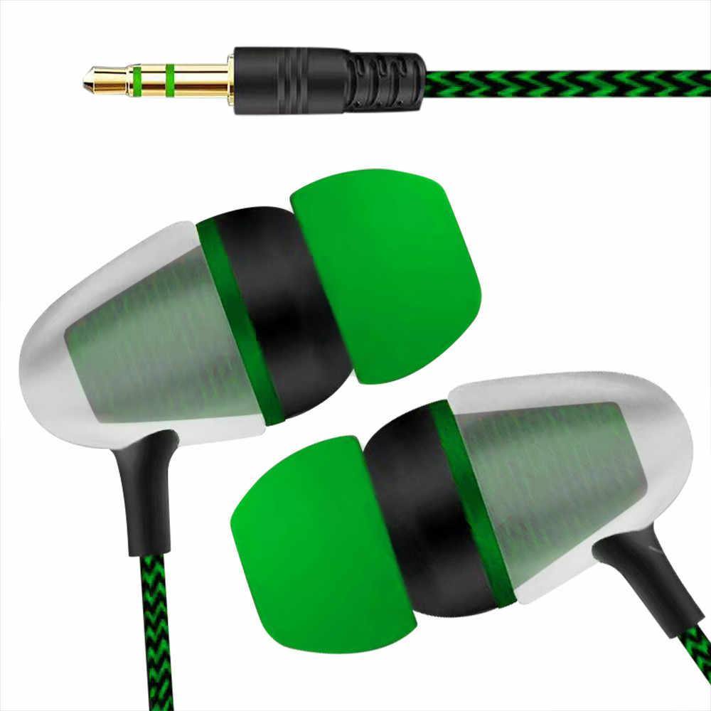 30 @ ユニバーサルイヤホンホット販売 3.5 ミリメートルインイヤーステレオイヤホン携帯電話のファッション Mp3 Mp4 低音の音楽ヘッドセット